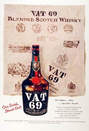 VAT 69 annons