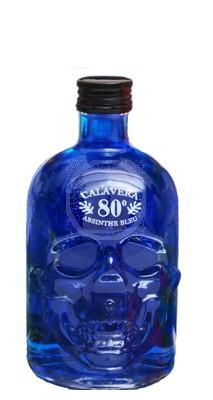 Absinthe Scull blå