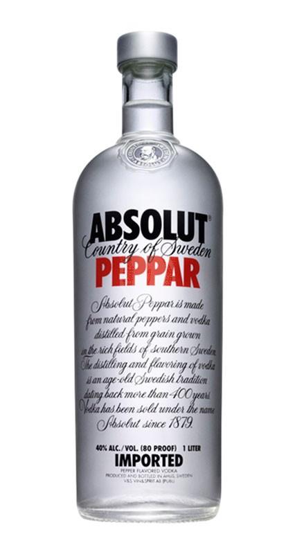 Absolut Vodka Pepper