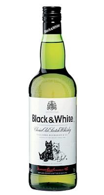 Black and White Scotch whiskey