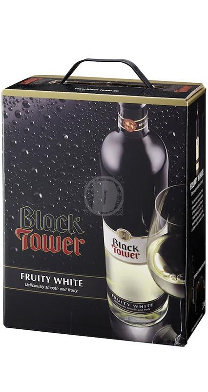 Black Tower Fruit White bag in box