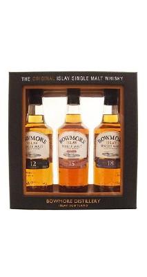 Bowmore Selection 12år, 15år, 17år 0,2 Liter