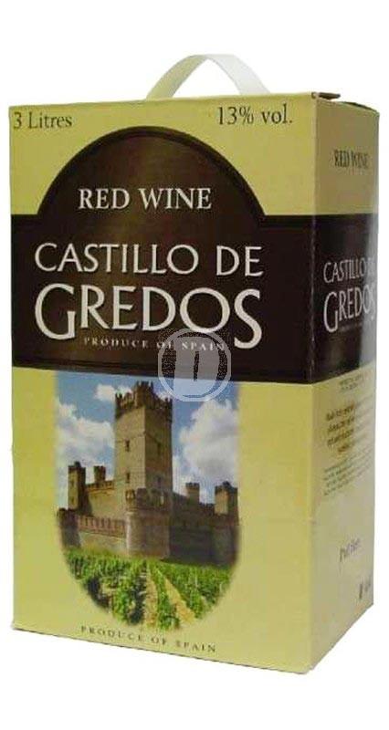Castillo de Gredos Rött 3 liter