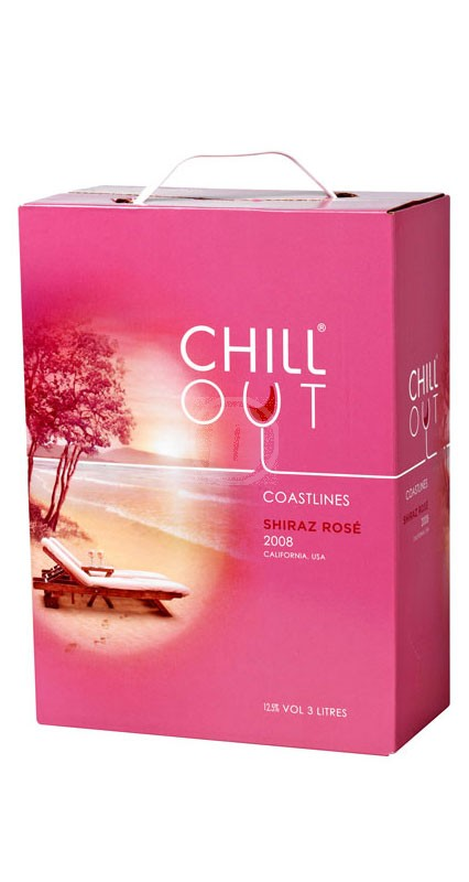 Chill Out Shiraz Rose 3 liter