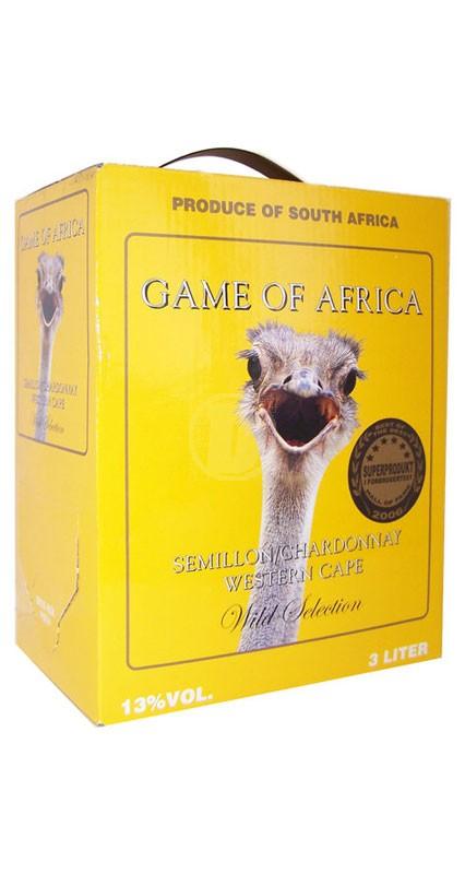 Game of Africa Chardonnay 3 liter
