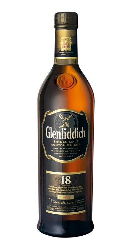 Glenfiddich 18 år