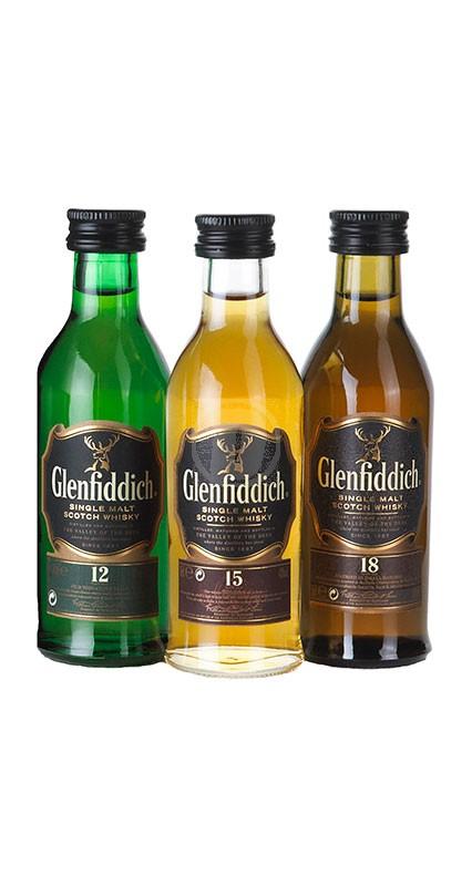 Glenfiddich Tasting Selection