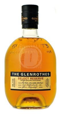Glenrothes Select Reserve whiskey flaska