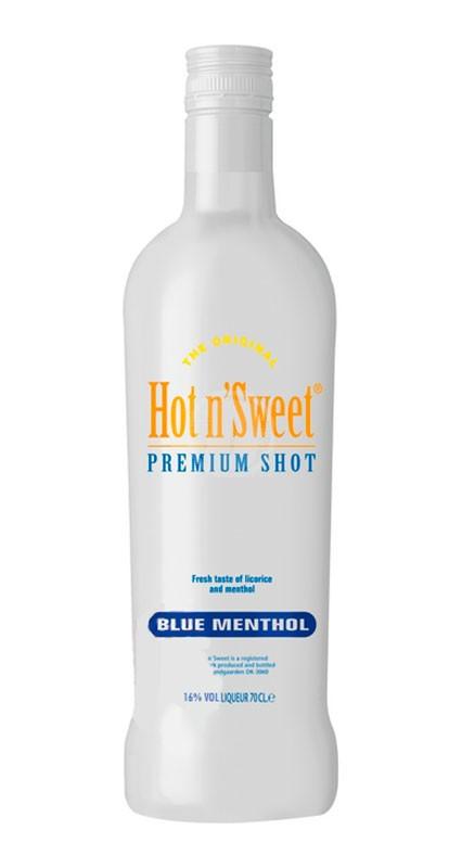 Hot n Sweet Shot Blue Menthol