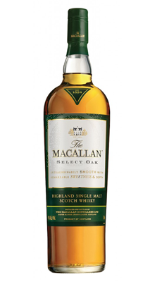 Macallan select oak i 1824 kollektionen