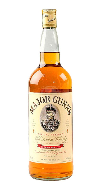 Major Gunns Blended Scotch