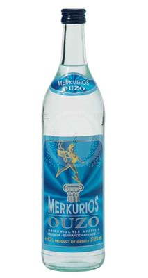 Ouzo Merkurios 70 Cl