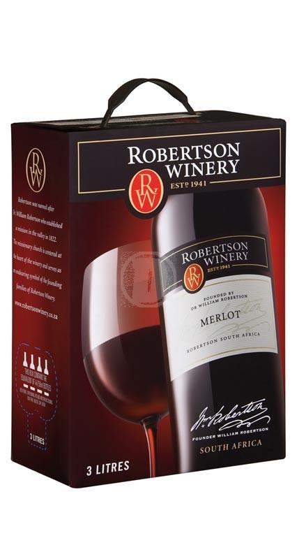 Robertson Winery Merlot 3 liter