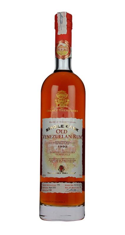 Secret Treasures Old Venzuelan Rum 1992