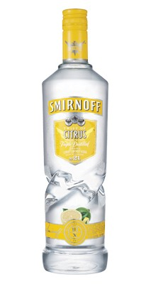 Smirnoff Citrus Twist vodka 1 liter