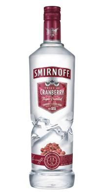 Smirnoff Cranberry Twist Vodka 1 liter
