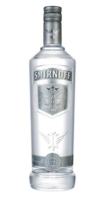 Smirnoff Silver Label vodka 1 liter