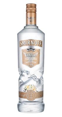 Smirnoff Vanilla Twist vodka 1 Liter