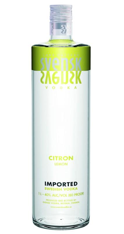 Svensk Vodka Citron