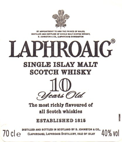 Laphroaig Islay Single Malt