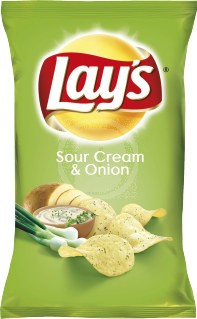 Kims Chips Sour Cream & Onion