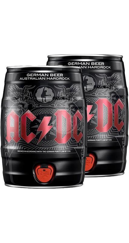 2-Pack AC/DC Ölfat