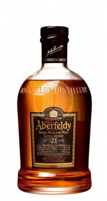 Aberfeldy scotch whisky