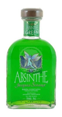 Absinth Jaques Senaux Green flaska