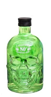 Absinthe Scull grön