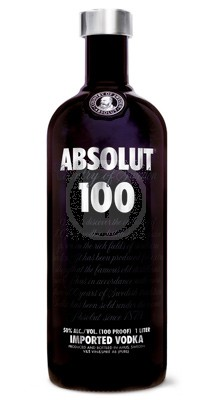 Absolut Vodka 100 1 Liter