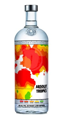 Absolut Flavor of the Tropics 1 Liter