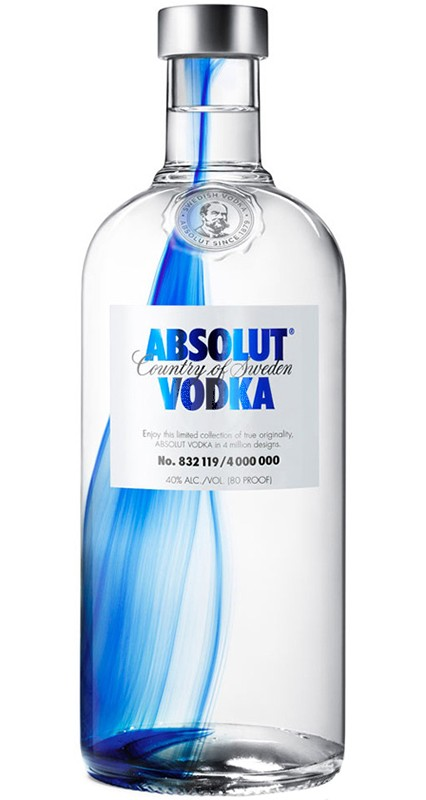 Absolut Blank Mario Wagner Limited Edition
