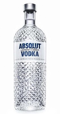Absolut Vodka  Glimmer 1 Liter