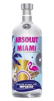 Absolut Vodka Miami
