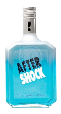 After Shock Blue Likör