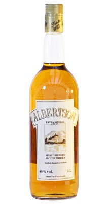 70 cl Albertson Whiskey