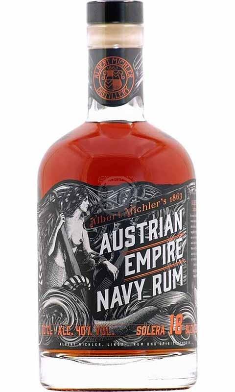 Austrian Empire Navy Rum Solera 18YO