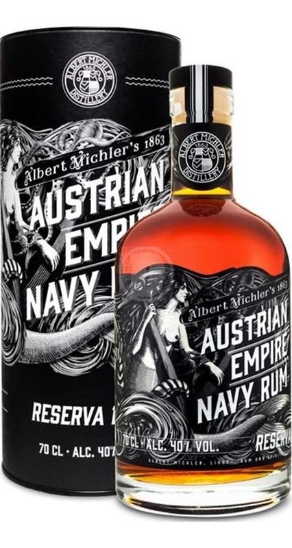 Austrian Empire Navy Rum Solera 21YO
