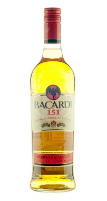 1 liter Bacardi 151