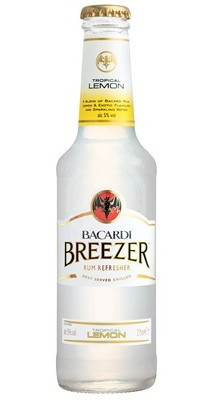 Bacardi Breezer Tropical Lemon