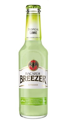 Bacardi Breezer Tropical Lime