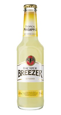 Bacardi Breezer Tropical Pineapple