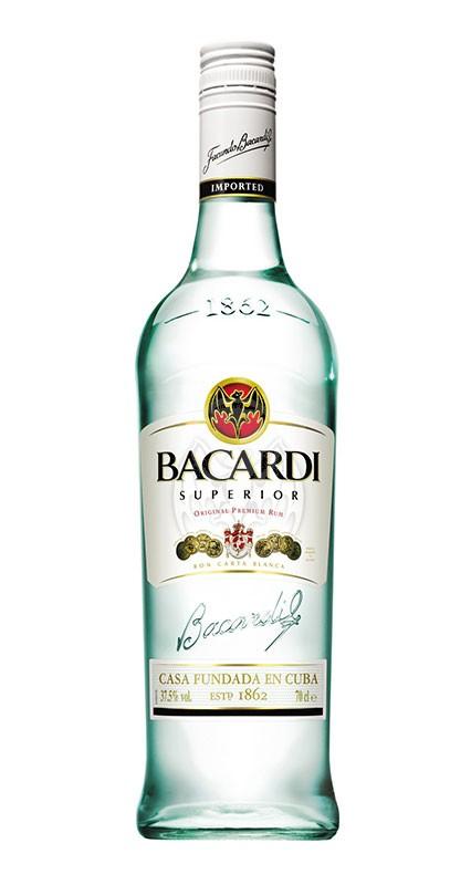 Bacardi Carta Blanca 1 liter