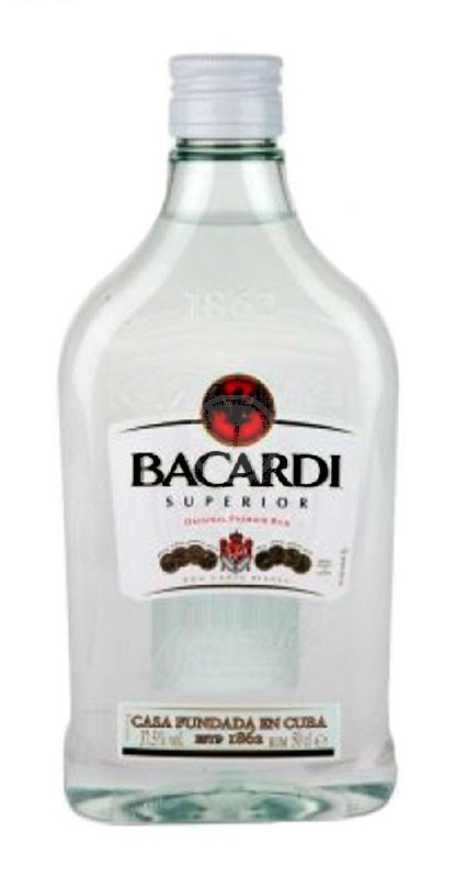 Bacardi Carta Blanca 500 ml