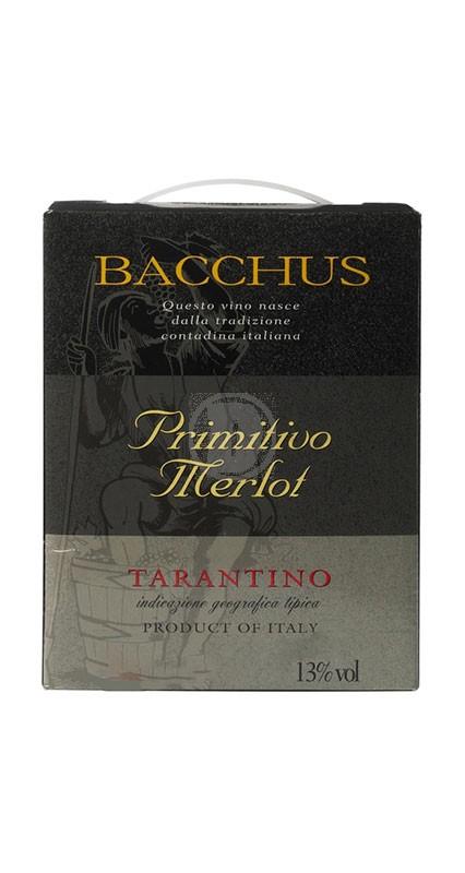 Bacchus Primitivo Merlot 3 liter