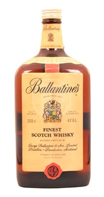 Ballantines 2 Liter flaska