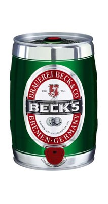 Becks Bier Party Fass