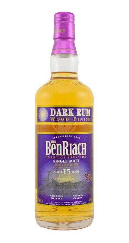 BenRiach 15 år Dark Rum
