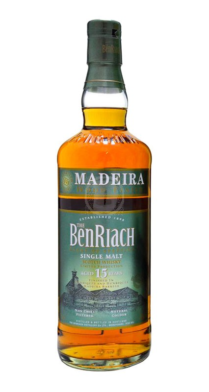 BenRiach 15 år Madeira Finish