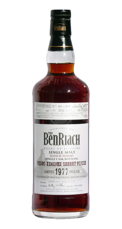 BenRiach 15 år Pedro Ximenez Sherry Finish